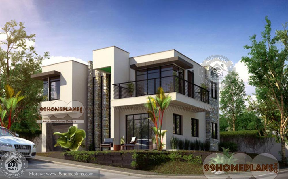 box type house exterior design images