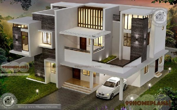 Contemporary homes for sale house plan elevation 2 for Contemporary home plans for sale