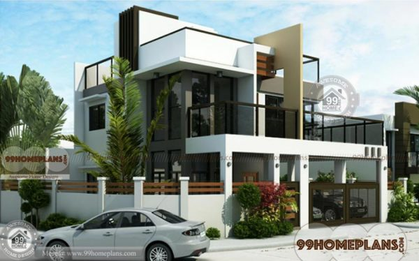 Contemporary House Designs 2264 Sqft Home Plan Elevation 2 Story