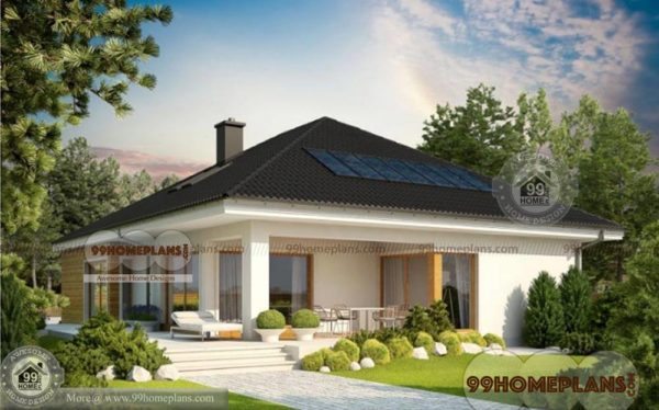 indian bungalow designs home plan elevation 1 story 1831 sqft house - Elevation Of Bungalow