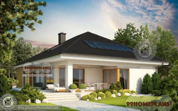 Indian Bungalow Designs Home Plan Elevation 1 Story 1831 sqft
