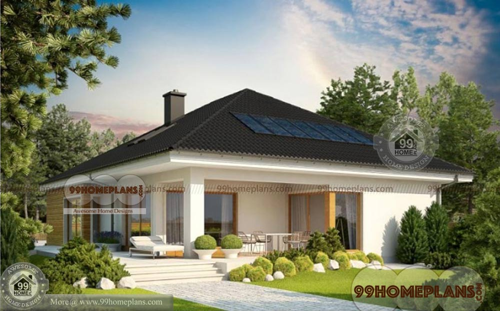 Indian Bungalow Designs Home Plan Elevation 1 Story