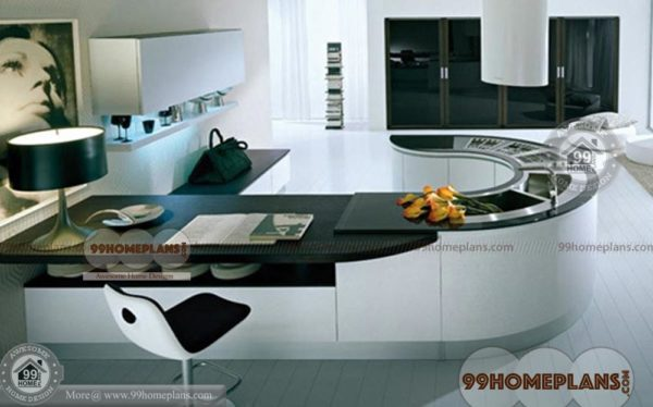 Modern Home Kitchen Designs With Most Beautiful Collections, A119