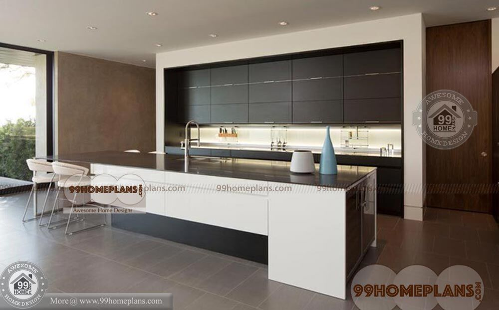 Kitchen Designs Layouts With More Stylish Modern Low Cost Collections