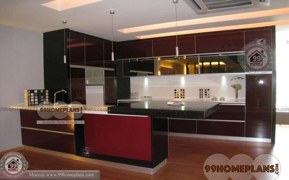 Modern kitchen design trends idea with latest rare home for Latest model kitchen designs