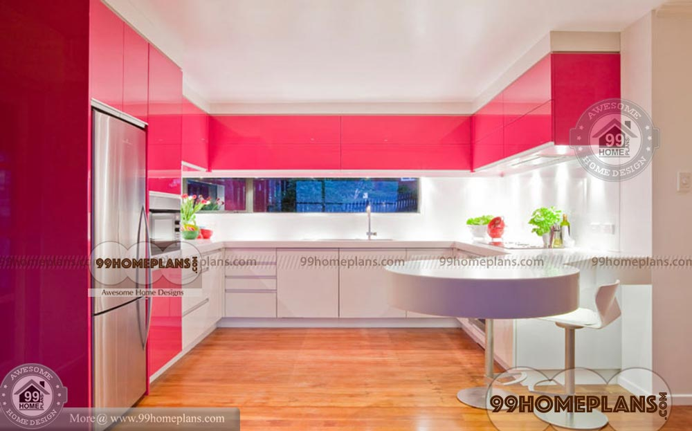 Modern Kitchen Designs For Small Kitchens Beautiful Efficient Collection