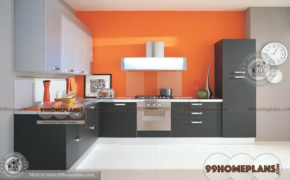 Modular Kitchen Designs India With New Home Kitchen Ideas Collections