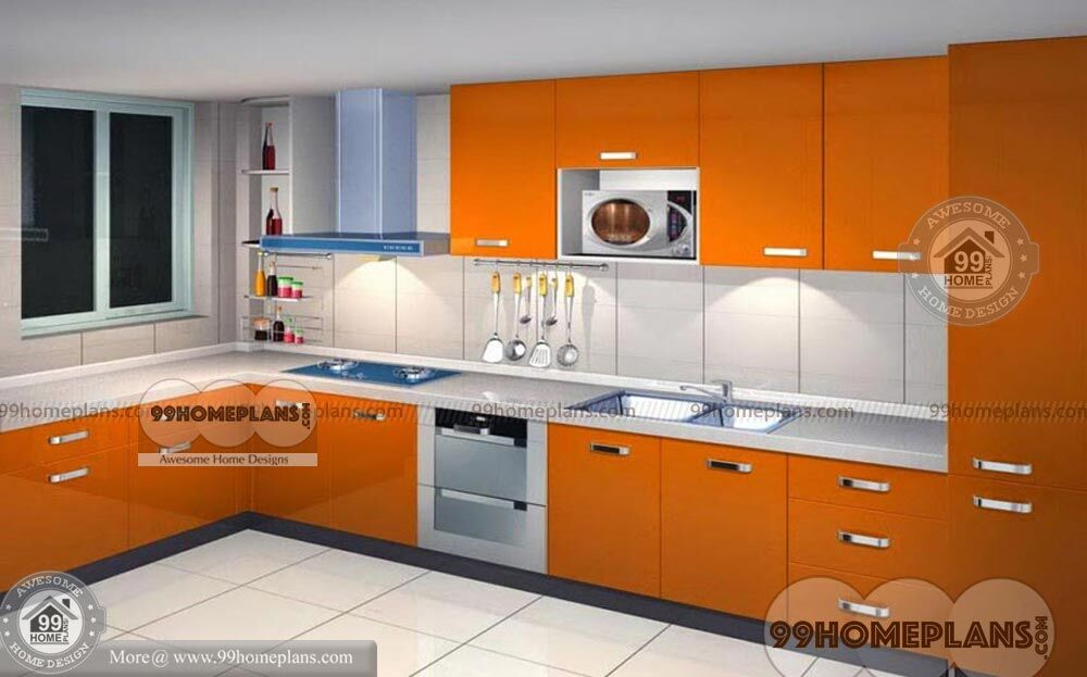 Simple Kitchen Design Ideas With Cute Stylish L Shape Latest Collections