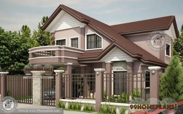 Traditional 4 bedroom house plans home plan elevation for Traditional house plans two story