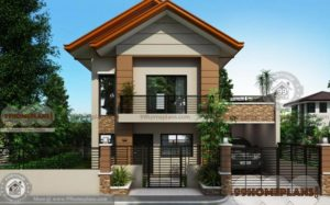 Traditional House Plans Two Story 1560 sqft