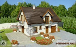 Traditional House Styles 1354 sqft
