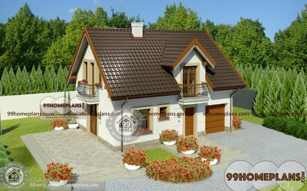 Traditional House Styles - Home Plans Elevation - Two Story - Cute ...
