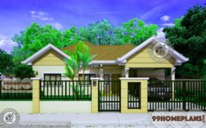 Traditional Indian House Designs 1301 sqft