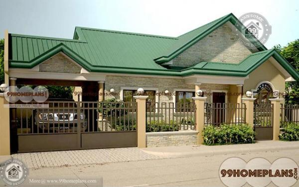 Traditional Style Home – House Plans Elevation – One Story – Best Designs