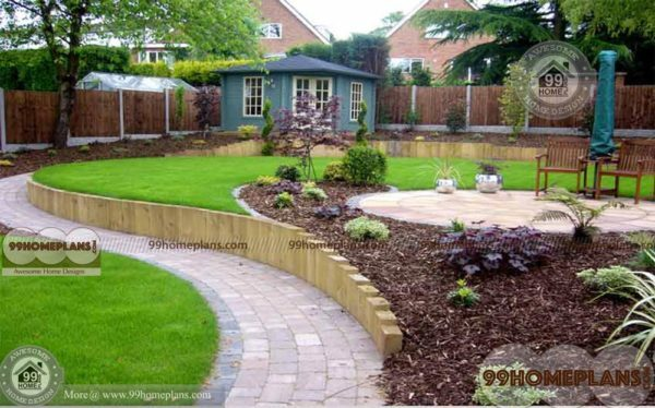 Beautiful Home Gardens Enjoy With Wide Garden Areas Collections