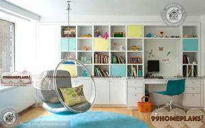 Building a Home Library on a Budget home interior