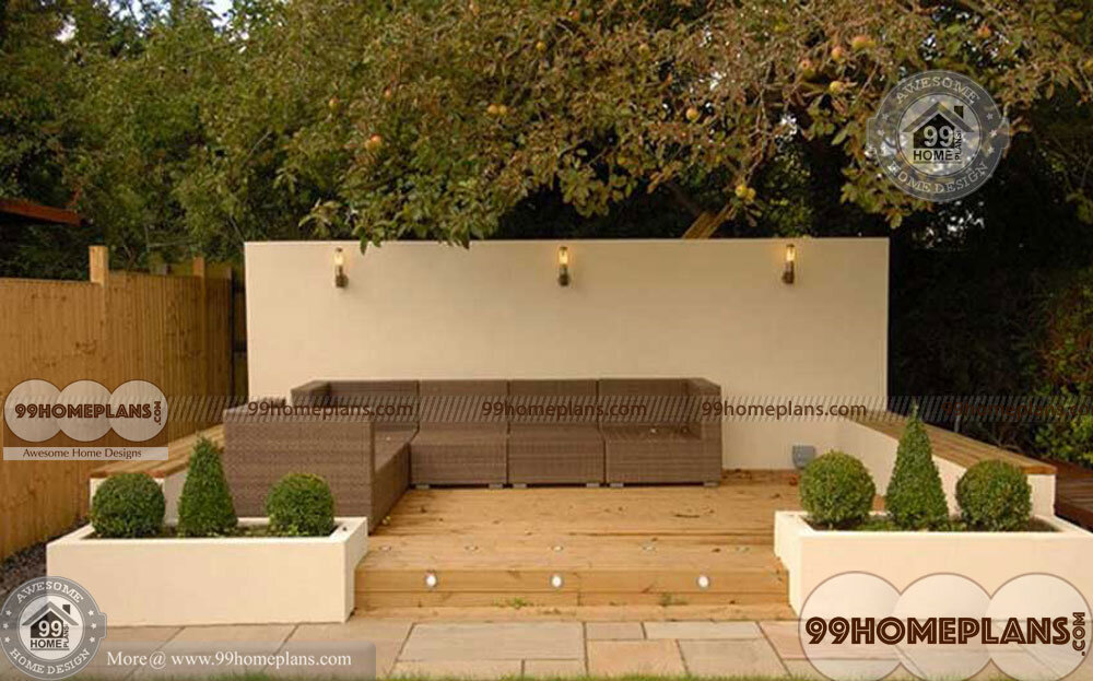 Central Courtyard Home Designs With Best Small Awesome Courtyards