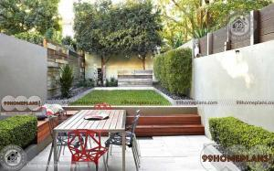 Closed Courtyard Designs home interior