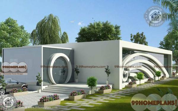 Contemporary Compound Wall Designs With Latest Front Walls