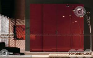 Double Colour Wardrobe Design home interior