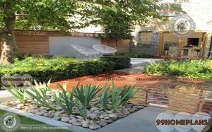 Front Yard Courtyard Designs home interior