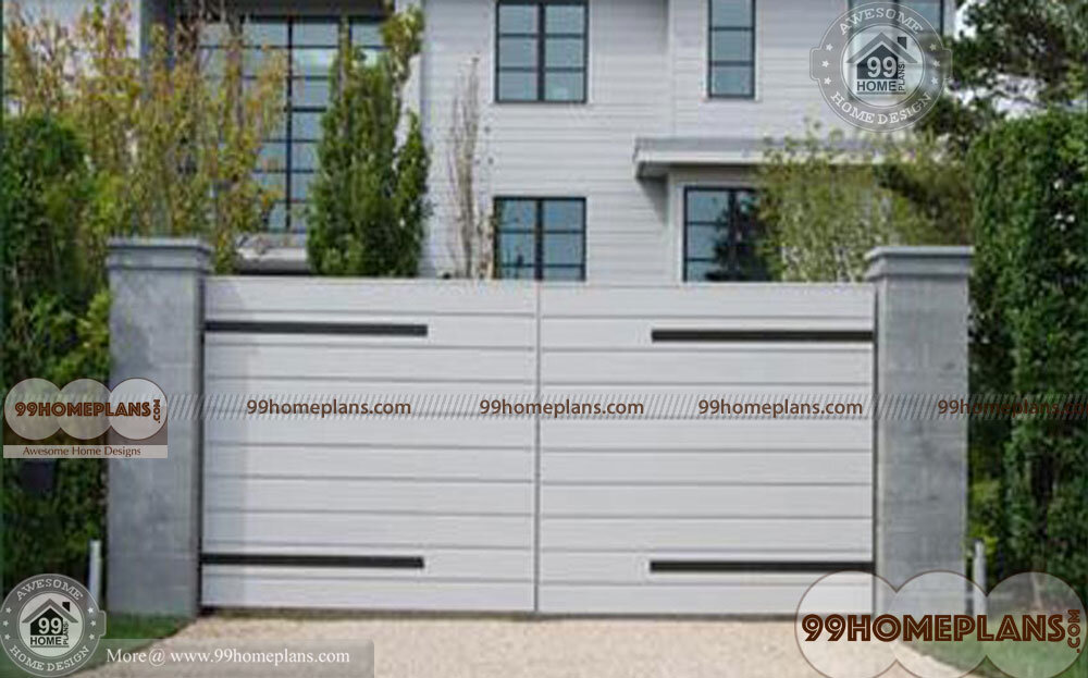 Main Gate Design for Homes | Best 60+ Modern Front Gate Idea & Images