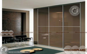Glass Wardrobe India home interior