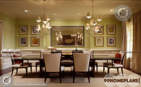 House Plans with Formal Dining Room - Traditional Style Designs for ...