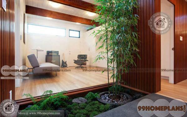 Interior Courtyard House Designs Ideas with Most Beautiful and Stylish