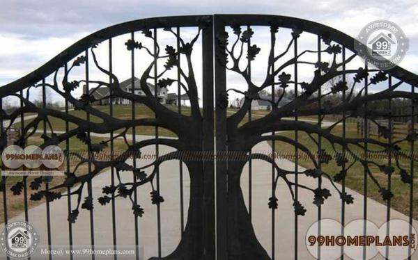 Beautiful home gate design catalog photos decoration