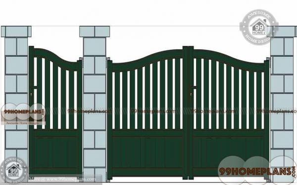 Main gate design ideas with latest indian style home gates for Latest main gate designs