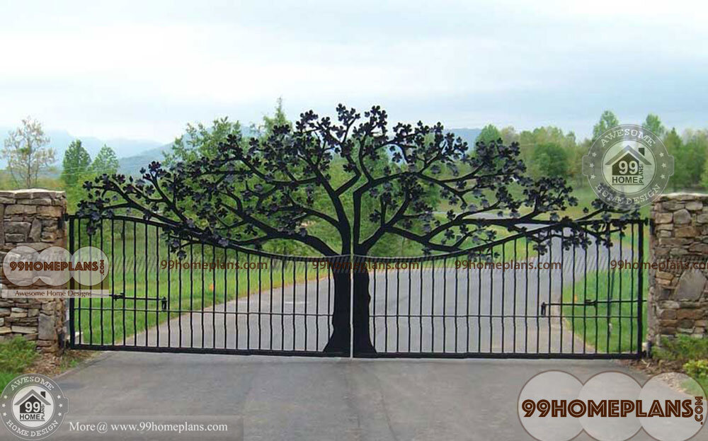 Main Gate Design Iron With New Style
