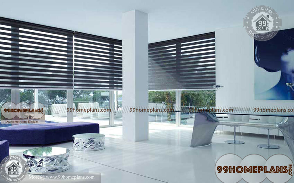 Modern Dining Room Curtains home interior