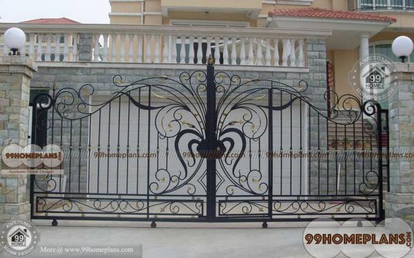Modern Main Gate Designs Ideas with Traditional Iron Home Gate Models