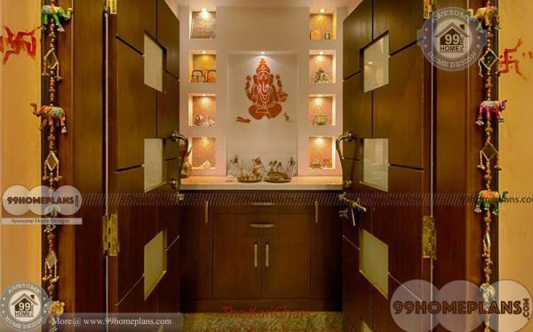 Modern Pooja Room Designs with Best Home Prayer Room Collections