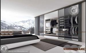 modern wardrobe sliding doors home interior