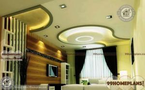 Modern Wooden Ceiling Design home interior
