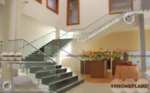 Quarter Turn Staircase home interior