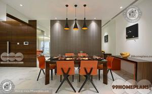 Simple Dining Room home interior