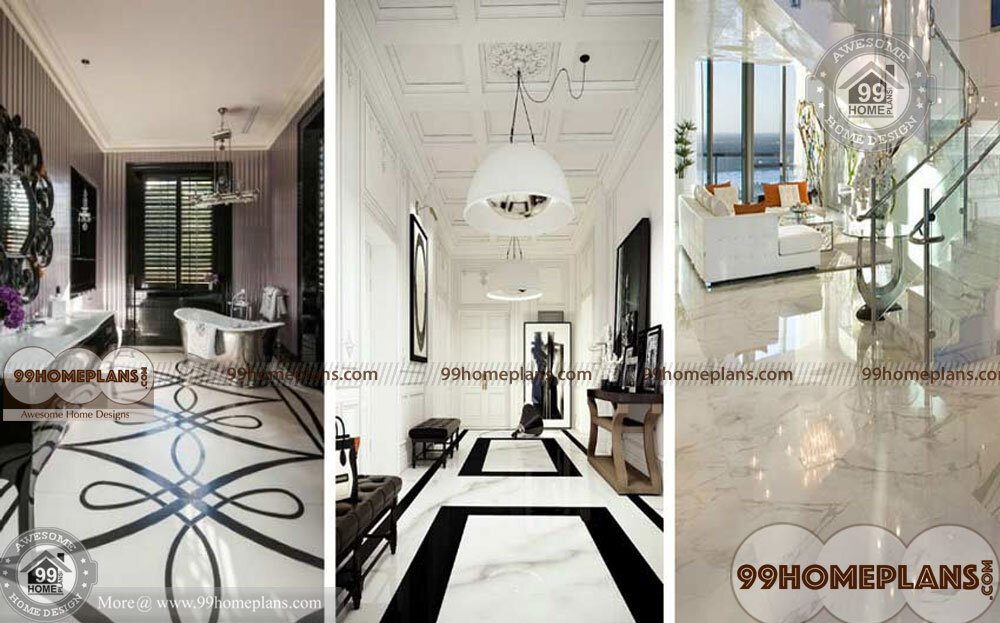 Simple Floor Design Ideas with Latest Indian Home Flooring Collections