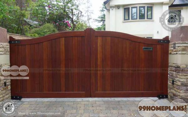 Simple Gate Design For House Ideas With Cute Wooden Gates Collections