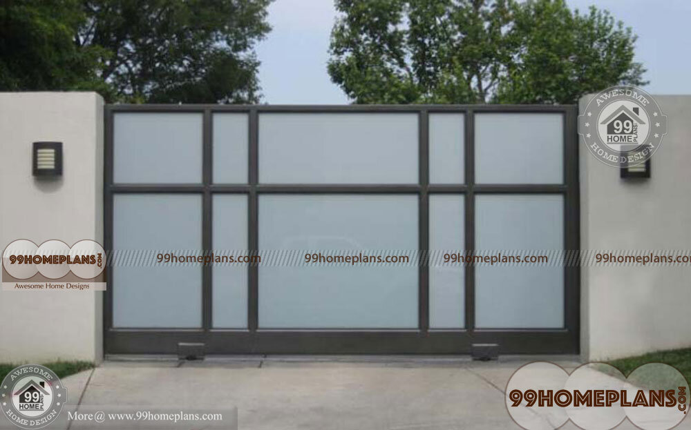 Simple Gate Designs Ideas With Latest Sliding Type Gates Collections