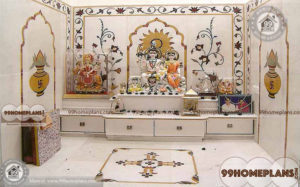 Simple Pooja Mandir Designs home interior