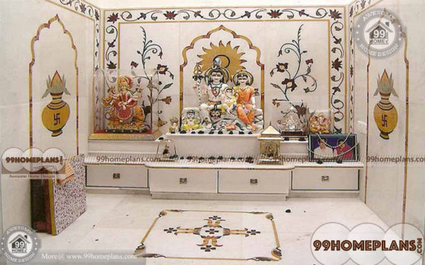 Simple Pooja Mandir Designs With Simple Best Hindu Prayer Room Ideas