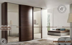 Sliding Mirror Wardrobe home interior