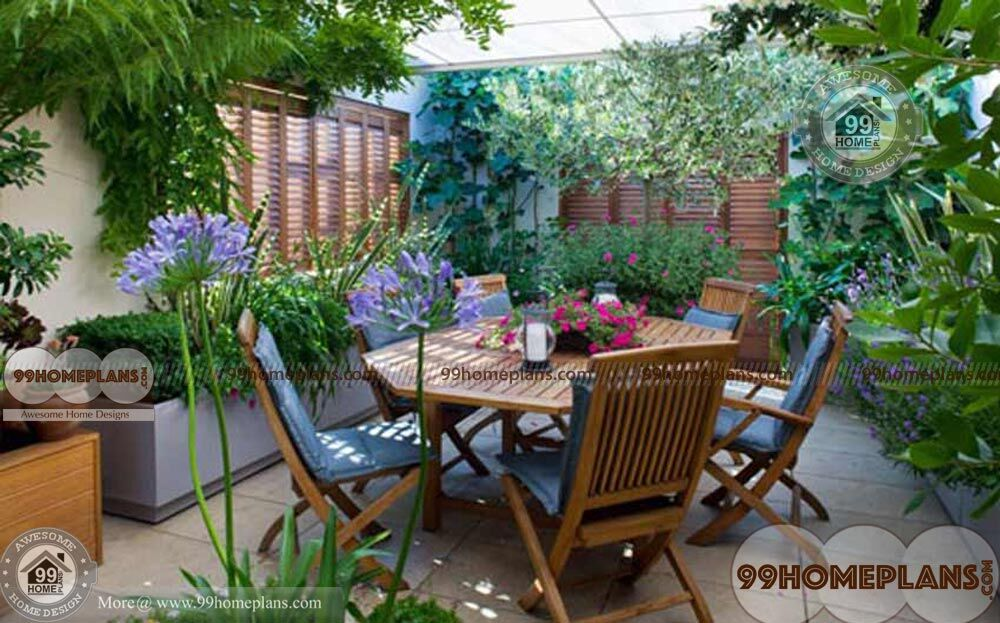 Small Courtyard Designs Pictures With Front Back Landscaping Plans