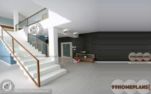 Stairs Design For Duplex House s101