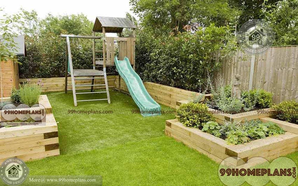 Very small garden ideas with kids play sitting areas and for Landscaping ideas for very small areas