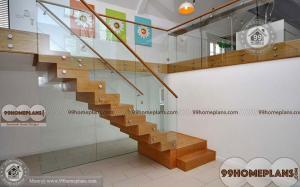 Wood And Glass Staircase Designs home interior