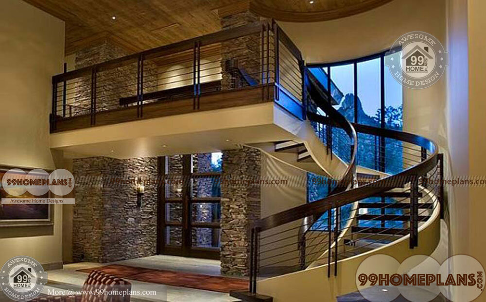 Wooden Spiral Staircase Plans home interior